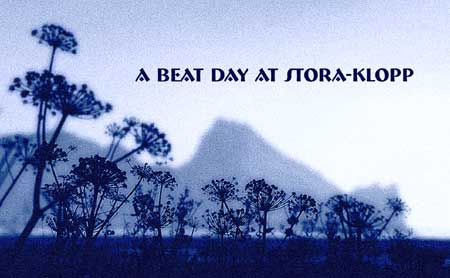 A Beat Day at Big Rock - Stora Klopp - A collective celebration of the Spoken Word and Song, May 3rd, Reykjavik, Iceland.