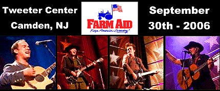 Willie Nelson, Neil Young and John Mellencamp organized the first Farm Aid concert in 1985 to raise awareness about the loss of family farms and to raise funds to keep farm families on their land. - Click Here To Learn More About FarmAid! -