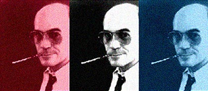 Click Here to read thoughts, reflects, rants and raves on, for and about Hunter S. Thompson in The Reading Room.
