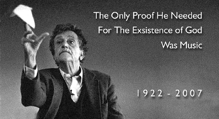 Kurt Vonnegut Jr. - 1922-2007 - Click Here  To Learn More about this great American lierary titan.