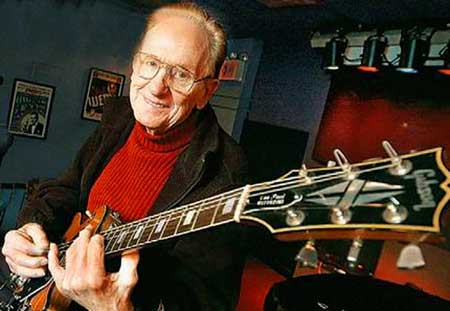 Virtuoso guitarist and inventor, Les Paul - 1915 - 2009 - Click Here To Read Assoiated Press' Nekesa  Mumbi Moody's report.