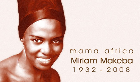 """I will sing until the last day of my life"" - Africa's ""First Lady of Song"", singer and social activist, Miriam Makeba, passed away on November 10th. She was 76. Click Here To Learn More about ""Mama Africa"" - Miriam Makeba."