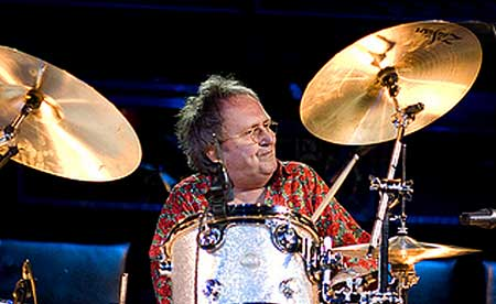 Mitch Mitchell performing in Experience Hendrix Tour - Click Here To Learn More About the Tour.