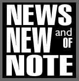 - News, New & Of Note!  - Click Here for the latest happenings from our friends and family in the Poetry, Music and Art World! -