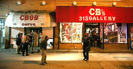 "Click Here to view the story of, ""My Last Time at CBGB's."""