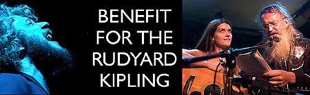 Jim James of My Morning Jacket, Ron and Sarah Elizabeth Whitehead play a Benefit for Preservation of The Rudyard Kipling. - Click Here To Learn More!