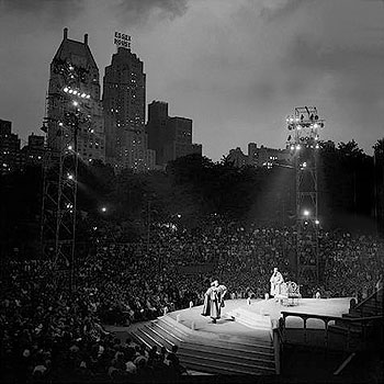 The Lincoln Center Library Celebrates David Amram's 77th Birthday and the 50th anniversary of the opening season of Shakespeare in the Park! - Click Here for a little history of Shakespeare in the Park!