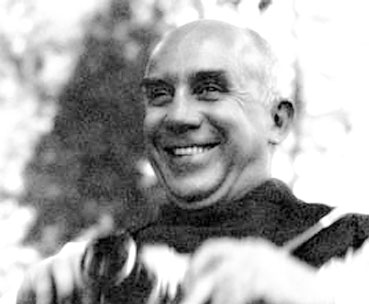Thomas Merton - Catholic theologian, poet, author and social activist - Click Here To Learn More about Thomas Merton and the Shining Like the Sun celebration.
