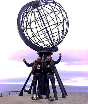 North Cape July 20th! - The True-Spirit team reaches North Cape on July 20th at 18:24 hrs! - The trip ends but the Freedom DreamJourney still continues! - Click Here To View the on-going True-Spirit Log Book. for all the latest entries!